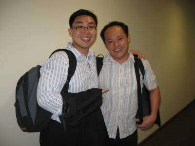 Meeting Up with Steven Wong