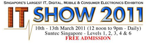 IT Show Singapore 2011